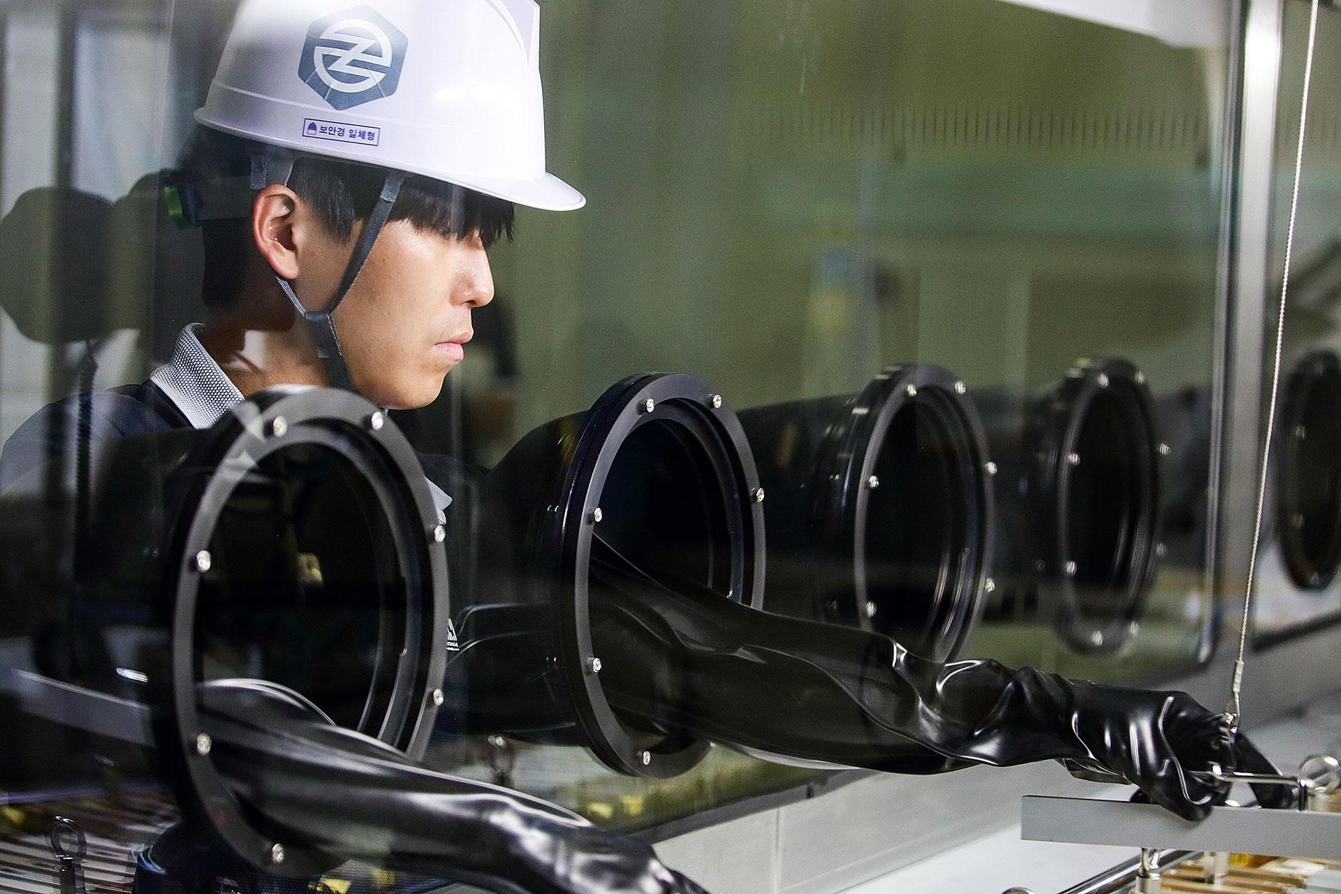 ASM produces 6kg of neodymium iron boron (NdFeB) alloy